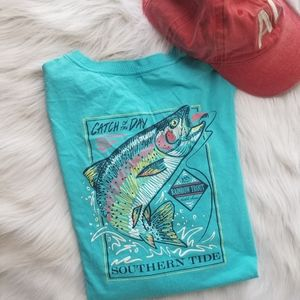 """Southern Tide """"Catch of the Day"""" Tee Shirt"""